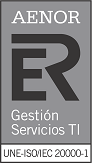 AENOR ISO 20000-1