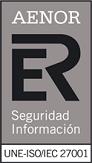Certificado AENOR ISO 27001